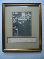Tennessee Williams Signed Matted Framed Photo With Provenance