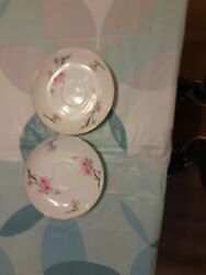 Diamond China Cherry Blossom Made In Japan Soup Bowl 7 1/2 Gold Rim