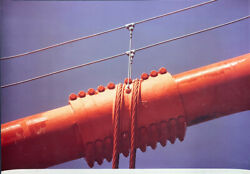 Ruffin Cooper Signed 1979 Large Photograph Main Cable Golden Gate Bridge