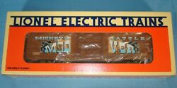 Lionel O27 Electric Trains Rolling Stock 16686 Mickey Mouse Bad Pete Boxcar