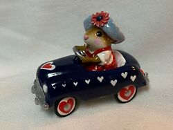 Rare Wee Forest Folk Special Color Love America Pedal Pusher Charity Wff
