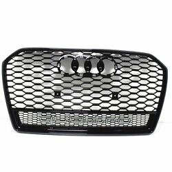 Audi A6 C7 Rs6 Radiator Grille 4g0853651bdt94 2016 New Genuine