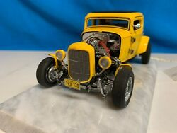 Franklin Mint American Graffiti 32 Ford Hot Rod 124 Mib Extremely Rare
