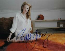 Poppy Montgomery Signed Authentic Autographed 11x14 Photo Beckett T29420