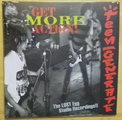 Teengenerate And039get More Action Lp Guitar Wolf Jet Boys Shonen Knife King Brothers