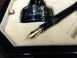 Parker Duofold Fountain Pen Lucky 8 Limited Edition Medium Pt New In Box