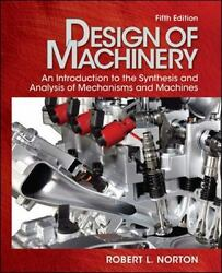Design Of Machinery With Student Resource Dvd Mcgraw-hill Series In Mechanical