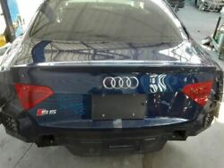 08-17 Audi S5 A5 Trunk Hatch Tailgate Coupe Led With Rear View Camera