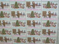 Christmas Seals Boys Town 1969 Father Flanaganand039s Boys Town Mint Sheet Set/ 50