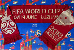 Official Exclusive Scarf Russia - Saudi Arabia World Cup 2018 Football Soccer