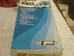 350 Chevy Ford Piston Rings .005 Over 1/16 1/16 1/8 4 Inch Bore