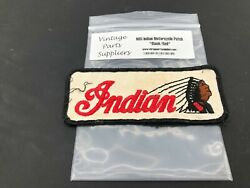 Indian Motorcycle Patch Chief Scout 45 74 80 Speedway Race Flat Track P17