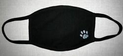 1 Face Mask Reusable Two Layers Soft Cotton Washable Paw Print animal love cute  $15.00