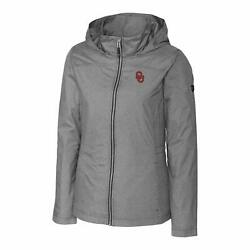 Women's Cutter And Buck Oklahoma Sooners Panoramic Packable Jacket Xxl