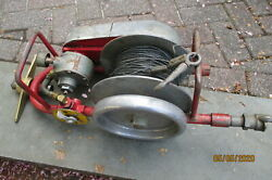 Cope Pneumatic Winch Air Powered Tugger Puller