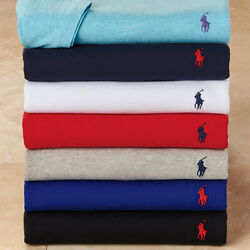 Polo Menand039s Classic Fit Short Sleeve Crew Neck T-shirts Nwt