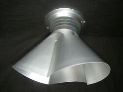 Vintage Retro Space Age Emerson Pryne Ceiling Infrared Heat Lamp Light Fixture