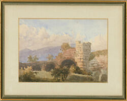 Rev. H. Cardew 1823-1897 - Signed And Framed C. 1853 Watercolour Ruins Ephesus