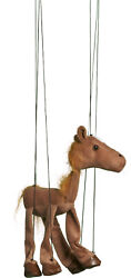 Sunny Toys Wb352a 16 In. Baby Horse - Brown Marionette Puppet