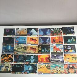 Pokemon The First Movie Topps Trading Cards Bundle Of 60 Cards Job Lot Vtg Holo