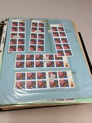 U.s. Booklet Stamp Collection Extensive Varieties 1561.60 Face