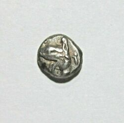 Ionia, Phokaia. Silver Diobol. C. Late 6th Century Bc. Head Of Griffin And Seal
