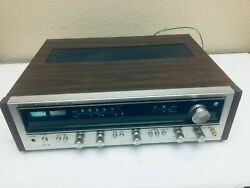 Vintage 70 Pioneer Am / Fm Stereo Receiver Model Sx - 636 Made In Japan