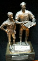 Roger Staubach 1995 Michael Ricker Pewter Statue Auto The Legend Lives 272/600