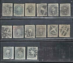 78b Used 15 Copies Average-fine Flaws Nice Cancels Scv. 6750 Jh 5/15