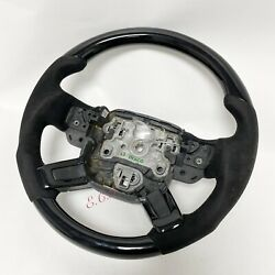 20132020 Oem Range Rover Hse L405 Supercharged Piano Black Sude Steering Wheel