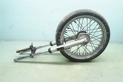 Harley Sportster Xlch1000 Xlch 1000 Forks Wheel Front End Nice