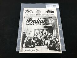 Indian Motorcycle News Chief Scout January 1988 Parts Book Manual P226