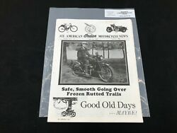Indian Motorcycle News Chief Scout October 1994 Parts Book Manual P251