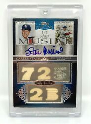Stan Musial 2006 Topps Sterling Auto And 5 Piece Relic - True 1/1 Rare
