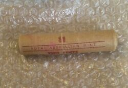 1966 Australia Decimal Currency - 2 Cents Ram Mint Coin Roll.