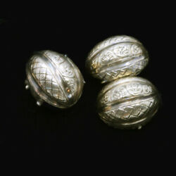 Antique Victorian Carriage Covers Coach Covers For Earrings 14k Gold 6856