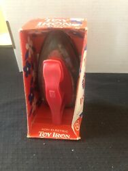 Wolverine Sunny Suzy Toy Iron Red Handle Stainless Non-electric Original Box 303