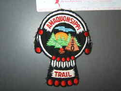 Boy Scout Amaquonsippi Trail Patch Illinois 5549t