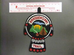Boy Scout Amaquonsippi Trail Patch Illinois 3025gg