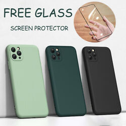 Case For iPhone 12 11 Pro MAX Mini XR XS SE 7 8 PLUS CoverScreen Protector $8.99