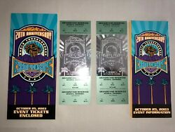 Mint 2003 Breeders Cup Full Tickets2 With Ticket Holder And Event Info Broch.