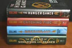 Lot 4 Hbdj The Hunger Games Trilogy By Suzanne Collins Mockingjay Songbirds L2