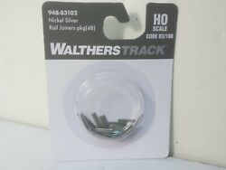 Universal Rail Joiners Code 100 Or 83 Nickel Silver Track Walthers 948-83102