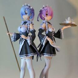 Rem Ram Life In A Different World Hand Painted Yetiart Resin Figurine Pre-order