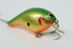 Bagleyand039s Kb3 6g Green Fishing Lure All Brass/lead Rare Color Collectible