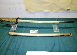 Japanese Naval Officer Sword And Scabbard