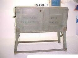 Saddlers Chest For Battery Wagon Dated 1917