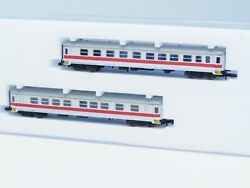 Fr Z-scale 2 Passenger Cars Swedish TÅgab With Factory Installed Interior Led