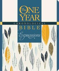The One Year Chronological Bible Creative Expressions, Deluxe English Hardcove
