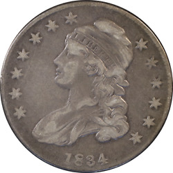1834 Bust Half Dollar - O-111 R.2 Small Date - Small Letter Great Deals From T